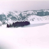 Laghetto Cornino con la neve